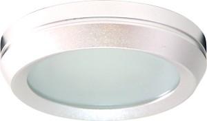 DL209, светильник потолочный, MR16 G5.3 с матовым стеклом, алюминий