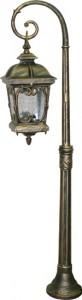 PL148, светильник садово-парковый, 100W 230V E27 черное золото