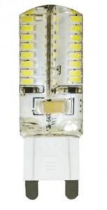 LB-421, лампа светодиодная капсульная, 64 LED(4W) 230V G9 2700K