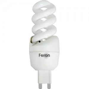 ELSM52A, лампа энергосберегающая, 5W 230V G9 6400K спираль T2