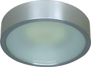 DL207S, светильник потолочный, MR16 G5.3 с матовым стеклом, хром