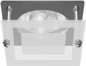 BS3159-P2-10, светильник потолочный, MR16 G5.3 хром
