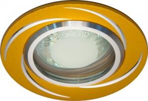 GS-M362G, светильник потолочный, MR16 50W G5.3 золото
