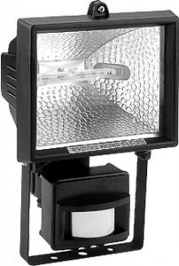 GL2402/FL24, прожектор с датчиком 500W 230V R7S с лампой, черный