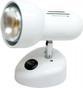 Светильник настенный, 1xR63 Е27 с выключателем, белый, RAD63S-S