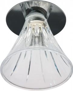 JD167, светильник потолочный, JCD9 35W G.9 прозрачный, хром