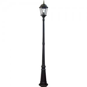PL156, светильник садово-парковый, 60W 230V E27 черное золото