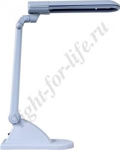 DE1110, светильник настольный, ESТ 11W 230V G23 серый с лампой