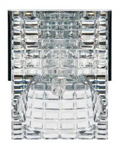 CD2106, светильник потолочный, JC G5.3 с прозрачным стеклом, хром
