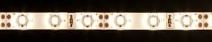 LS604, комплект влагозащищенной светодиодной ленты с драйвером 30W, 60SMD(3528)/m 4.8W/m 12V  теплый белый на белом 5 метров
