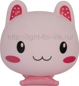 DE1502, светильник для детской, розовая кошечка