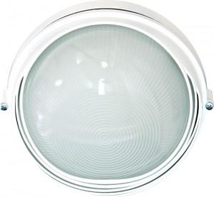 НПО11-100-03, светильник пылевлагозащищенный  накладной, 230V Е27, белый