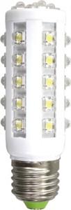 """LB-88, лампа светодиодная,  35LED(6W) 230V E27 7000K (400lm) """"кукуруза"""""""
