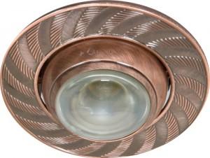 AL1004, светильник потолочный, античная медь