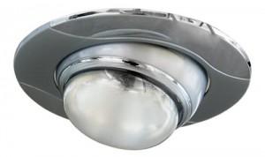 020-R39, светильник потолочный,  серый-хром