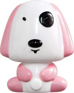 "FN1165, светильник-ночник ""собачка"", 4 LED 1W 230V розовый"