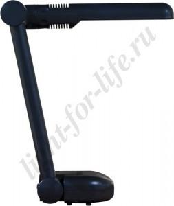 DE1105, светильник настольный, ESТ 9W 230V G23 черный с лампой