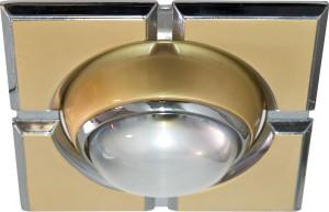098-R39-S, светильник потолочный,  золото-хром