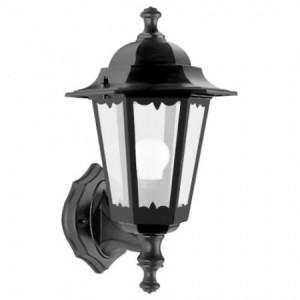 6201, светильник садово-парковый, 100W 230V Е27 черный