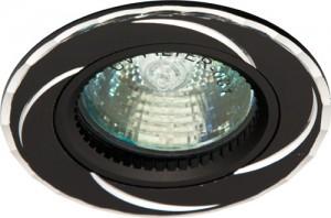 GS-M361BK, светильник потолочный, MR16 50W G5.3 черный
