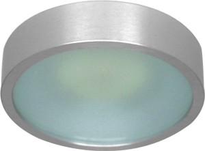 DL207S, светильник потолочный, MR16 G5.3 с матовым стеклом, алюминий