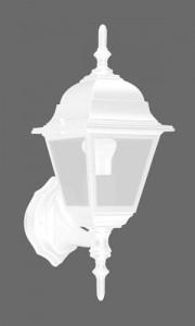 4201, светильник садово-парковый, 100W 230V Е27 белый