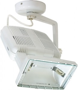 SPO26, прожектор металлогалогенный с пускателем, 150W 230V R7S белый
