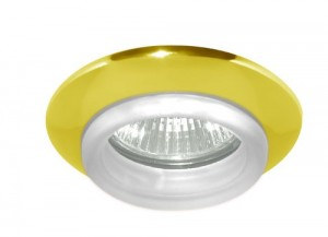 730С-W, светильник потолочный, MR16 G5.3 золото белый