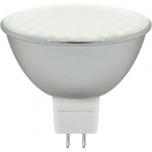 LB-26, лампа светодиодная, 80LED (7W) 230V G5.3 6400K MR16