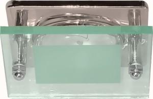 3781, светильник потолочный, R63 Е27 со стеклом, серебро