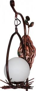 MB-7112, светильник настенный, 60W 220V Е27 античное золото
