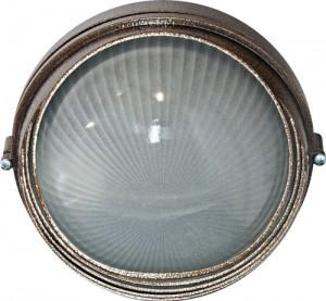 НПО11-100-03, светильник пылевлагозащищенный накладной, 230V Е27, бронза