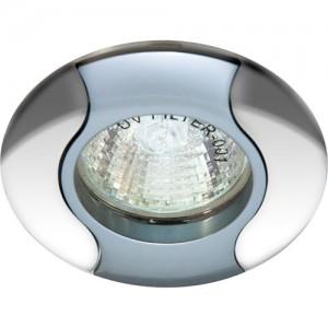 020Т-MR11, светильник потолочный, серый-хром