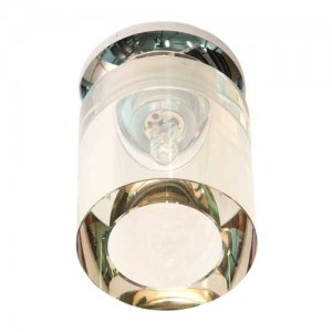 JD151, светильник потолочный, JCD9 50W G9, желтый, хром