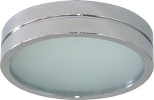 DL208, светильник потолочный, MR16 G5.3 с матовым стеклом, алюминий