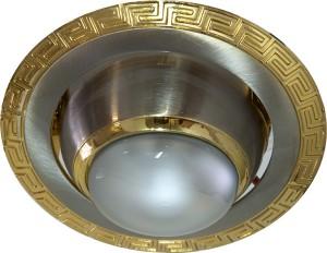 1723, светильник потолочный, R39  серебро-золото