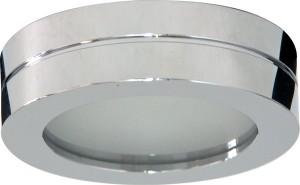 DL208S, светильник потолочный, MR16 G5.3 с матовым стеклом, хром