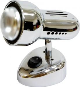 Светильник настенный, 1xR50 Е14 с выключателем, хром, RAD50S-S