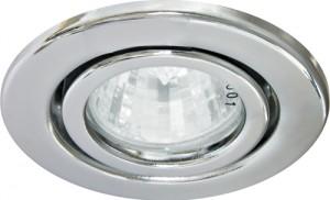 DL11, светильник потолочный встраиваемый, MR16 G5.3 серебро