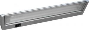 CAB36/TL2016, светильник люминесцентный, 21W T5 с выключателем,  серебро