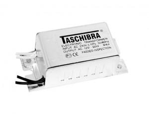 TRA25, трансформатор электронный понижающий (TASCHIBRA), 230V/12V 105W