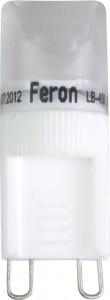 LB-491, лампа светодиодная капсульная, 1LED(1W) 230V G9 6000K