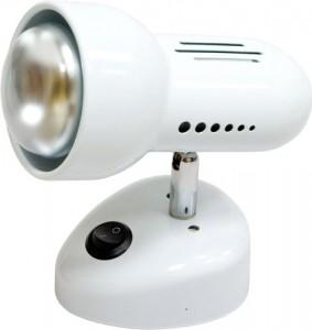 Светильник настенный, 1xR50 Е14 с выключателем, белый, RAD50S-S