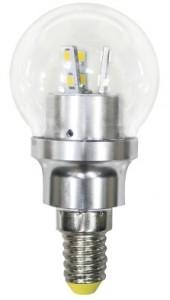 LB-40, лампа светодиодная, 12LED(4,5W) 230V E14 6400K