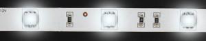 LS606, светодиодная лента, цвет свечения: холодный белый, 5m  7.2W/m, белое основание