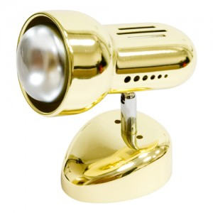 Светильник настенный, 1xR50 Е14 золото, RAD50S