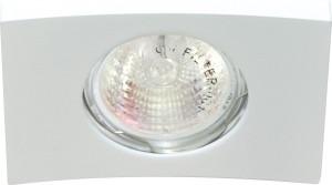 DL5A, светильник потолочный встраиваемый, MR16  12V G5.3 белый