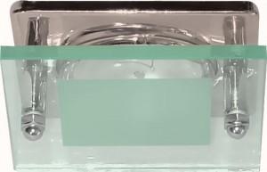 3781, светильник потолочный, R50 E14 со стеклом, серебро