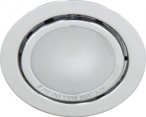 А012, светильник мебельный, JC G4.0 хром, с лампой