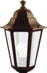 6105, светильник садово-парковый,  60W 230V Е27 черное золото
